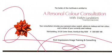 Colour Consult Gift Voucher